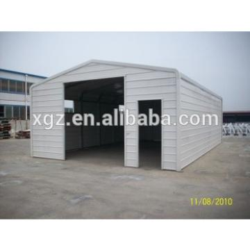 Simple personal steel portable garage for car parking