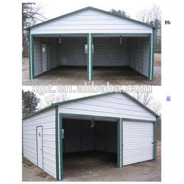 Prefabricated Steel Structure Garage For ParkingTwo Cars