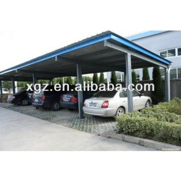 Structural Color Steel Tube Carport