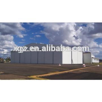 Modern pre-fabricated steel hangars