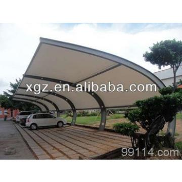 Public Steel Structure Car Parking Canopy