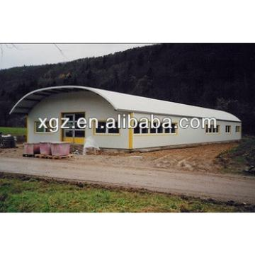 Low Cost China ARC Metal Prefab Storage Shed from China