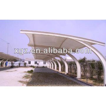 Simple Prefabricated Steel Truss Canopy