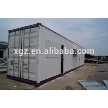 Steel Frame Movable Prefabricated Container House For Sale