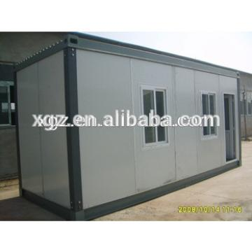 Low cost sandwich board steel structure container house