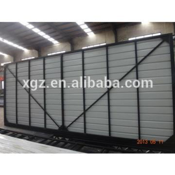 Folding container warehouse