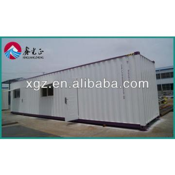 china movable prefab assemble and disassemble container house