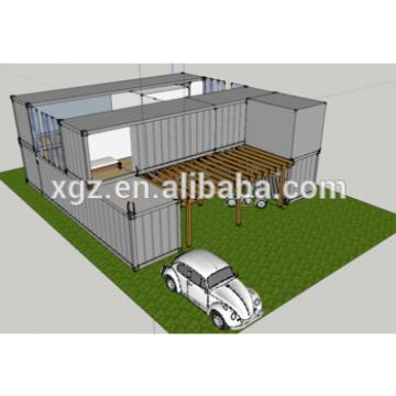 20 feet pre-made container house for hot sale