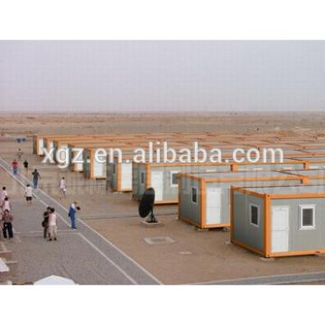 20 feet prefab shipping container house for sale