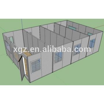 4 X 20feet steel structure moveable house for classroom