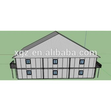 low cost modern prefab container school
