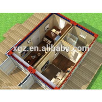 Hot sale flat pack container house for seaside villa