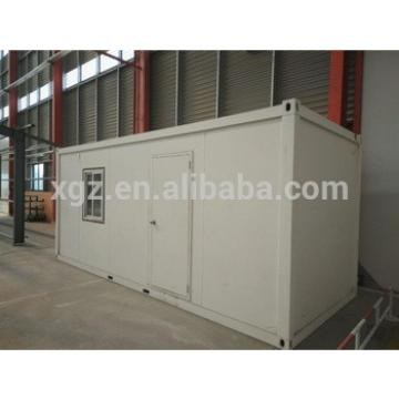 Size standard steel modular container house for worker and shelter