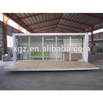 Good quality prefabricated shipping container home for sale