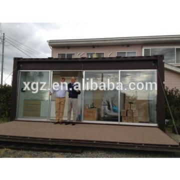 High quality 20 feet converted container house for sale