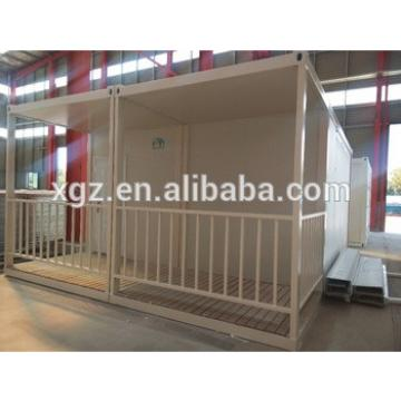 cheap modern 20ft steel container house with bathroom for sale australia