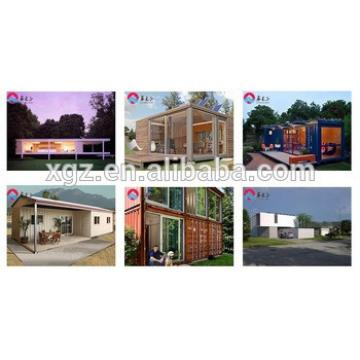 XGZ construction design container house steel building