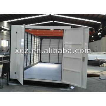 Color steel sheet foldable storage container