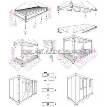 sandwich panel steel frame container house