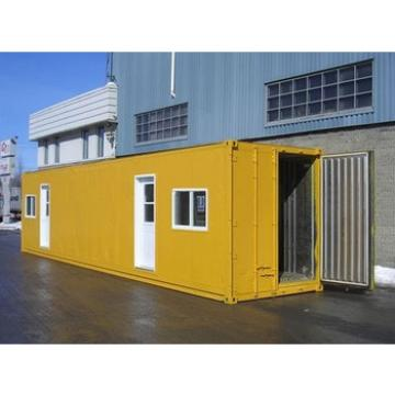 modified container house used for living accommodation