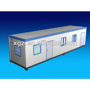 self-made 40 feet steel structure container house for living