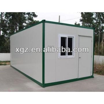 Low cost flat packed 20 feet container house for storage