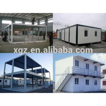 Stacked steel structure container house