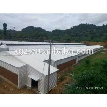 low cost steel poultry shed broiler poultry farm house design