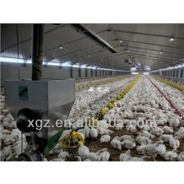 ISO & CE certified steel structure prefab poultry farm construction with automatic equipments