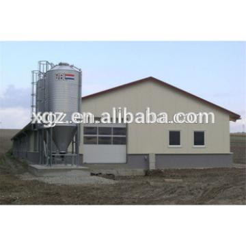 high quality steel poultry house chicken farm automatic equipment from china