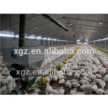 Light Steel Structure Poultry Farm House /Chicken Shed In Africa countries