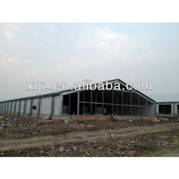 economical prefab sandwich panel steel structure chicken house for sales