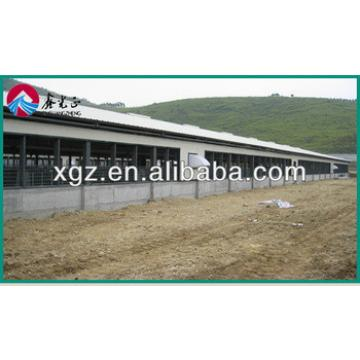 economical prefab sandwich panel steel structural chicken shed designs