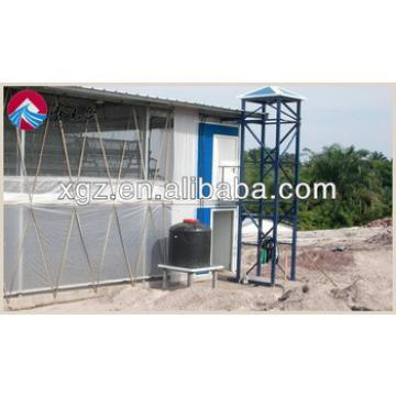 prefab sandwich panel steel structure chicken house for sales