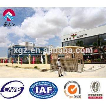 Modern Design Steel Frame Prefabricated Shops For Sale
