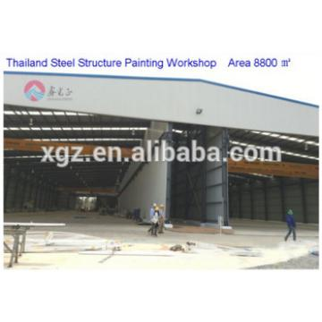 construction building steel structure workshop