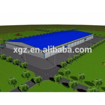 low cost steel frame prefabricated warehouse logistics