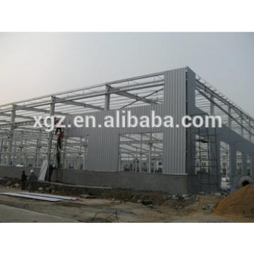 Steel Frame Prefabricated Warehouse/Workshop For Rent