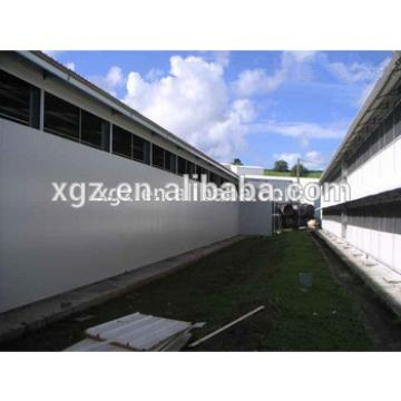 cheap modern steel structure sheds for poultry farm