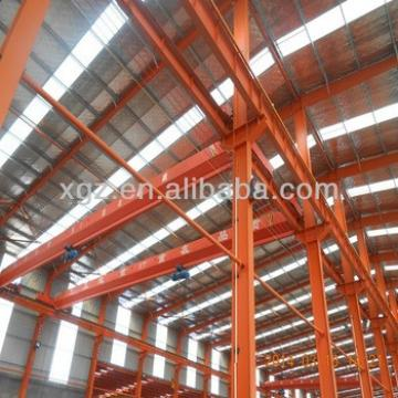 Modern Steel framed industrial building