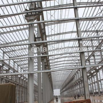 Q345 finished steel structure warehouse
