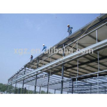 Certification Prefab Light Steel Structure Curved Roof Design Structural Steel Shed
