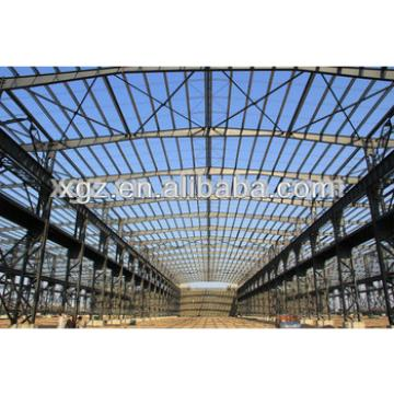 Prefabricated Light Steel Truss Frame Warehouse