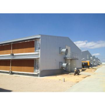 Galvanized Prefabricated Chicken Farm / Chicken House