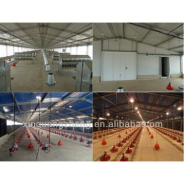 Light steel structure Chicken house for sale