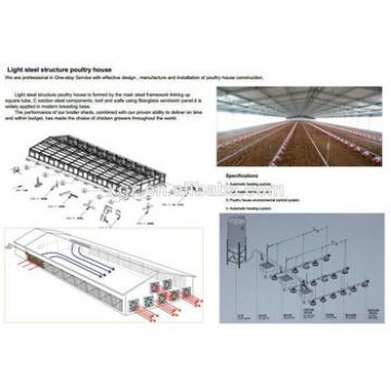 steel structure farm for eggs chicken