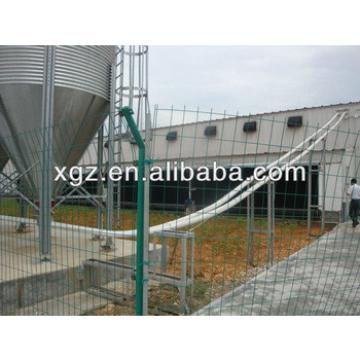glass wool sandwich panel prefab steel structure chicken house