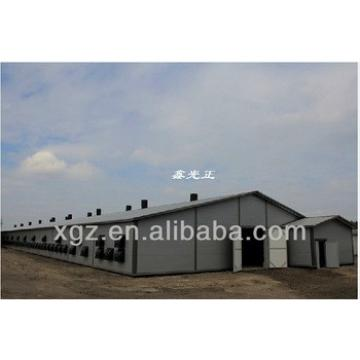 Prefabricated Broiler Chicken Farm House Building