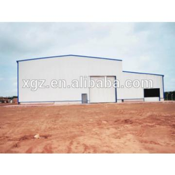 Light Weight Steel Structure Shed for workshop