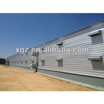 Low Cost Broiler Poultry House Construction